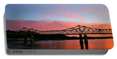 Natchez Sunset Portable Battery Charger