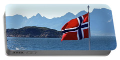 National Day Of Norway In May Portable Battery Charger by Tamara Sushko