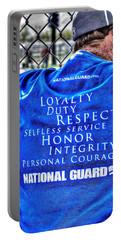 National Guard Shirt 21 Portable Battery Charger