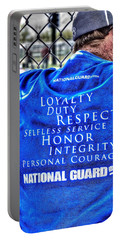 National Guard Shirt 21 Portable Battery Charger