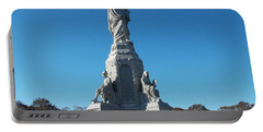 National Monument To The Fore Fathers Portable Battery Charger by Catherine Gagne