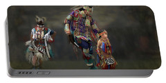 Native American Dancers Portable Battery Charger