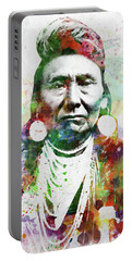 Native American Indian 1 Portable Battery Charger