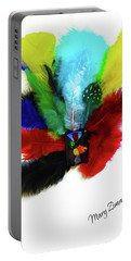 Native American Tribal Feathers Portable Battery Charger