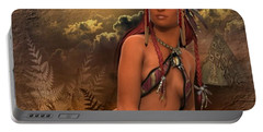 Native American Woman... Abedabun Portable Battery Charger