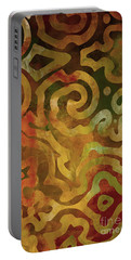 Native Elements Earth Tones Portable Battery Charger by Mindy Sommers