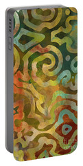Native Elements Multicolor Portable Battery Charger by Mindy Sommers