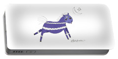 Native Horsey Portable Battery Charger by Shelley Overton