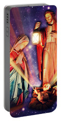 Nativity Christmas Card IIi Portable Battery Charger