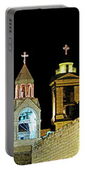 Nativity Church Lights Portable Battery Charger