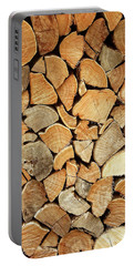 Natural Wood Portable Battery Charger by AugenWerk Susann Serfezi