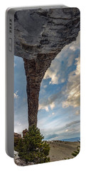 Portable Battery Charger featuring the photograph Natural Arch 2 by Leland D Howard