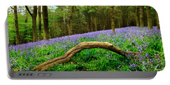 Natural Arch And Bluebells Portable Battery Charger