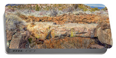 Natural Bridge At Lava Beds Portable Battery Charger