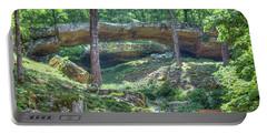 Natural Bridge Of Arkansas Portable Battery Charger