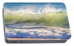 Portable Battery Charger featuring the photograph Natural Chaos, Quinns Beach by Dave Catley