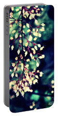 Natural Lace 2 Portable Battery Charger by Sarah Loft