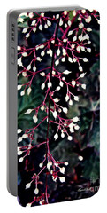 Natural Lace Portable Battery Charger by Sarah Loft