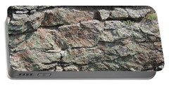 Natural Stone Wall Portable Battery Charger by Jayne Wilson