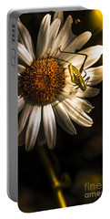 Nature Fine Art Summer Flower With Insect Portable Battery Charger