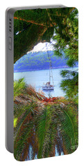 Nature Framed Boat Portable Battery Charger