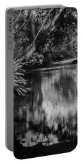 Nature In Black And White Portable Battery Charger