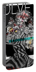 Portable Battery Charger featuring the digital art Nature Is God by Nola Lee Kelsey