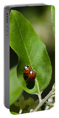 Nature - Love Bugs Portable Battery Charger by Christina Rollo