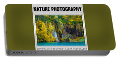 Nature Photography Collection Portable Battery Charger by Modern Art Prints