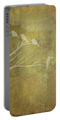 Nature Study In Gold  Portable Battery Charger