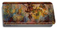 Portable Battery Charger featuring the photograph Nature Tapestry 1997 by Padre Art