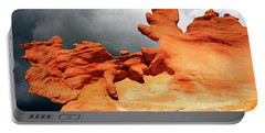 Portable Battery Charger featuring the photograph Nature's Artistry Nevada 2 by Bob Christopher