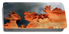 Portable Battery Charger featuring the photograph Nature's Artistry Nevada by Bob Christopher