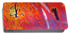 Nature's Artwork, Rusted Automobile Portable Battery Charger