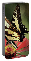 Portable Battery Charger featuring the digital art Nature's Beauty by Kim Henderson