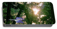 Portable Battery Charger featuring the photograph Nature's Cathedral by Marie Hicks