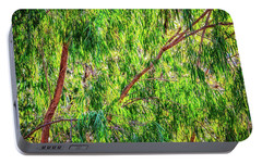 Portable Battery Charger featuring the photograph Natures Greens, Yanchep National Park by Dave Catley