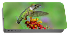 Portable Battery Charger featuring the photograph Nature's Majesty by Rodney Campbell