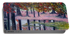 Natures Painting Portable Battery Charger