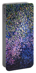 Natures Stain Glass Symphony Portable Battery Charger