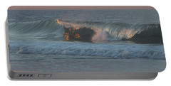 Portable Battery Charger featuring the photograph Natures Wave by  Newwwman