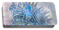Portable Battery Charger featuring the photograph Nautical Beach And Fish #12 by Debra and Dave Vanderlaan