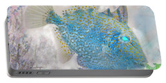 Portable Battery Charger featuring the photograph Nautical Beach And Fish #2 by Debra and Dave Vanderlaan