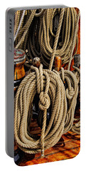 Nautical Knots 17 Oil Portable Battery Charger