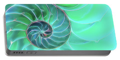 Nautilus Aqua Spiral Portable Battery Charger
