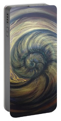 Nautilus Spiral Portable Battery Charger