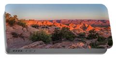 Navajo Land Morning Splendor Portable Battery Charger
