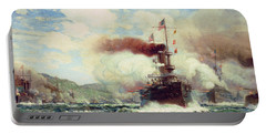 Naval Battle Explosion Portable Battery Charger