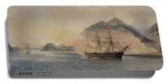 Naval Battle Of The Strait Of Shimonoseki Portable Battery Charger