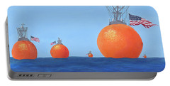 Naval Oranges Portable Battery Charger